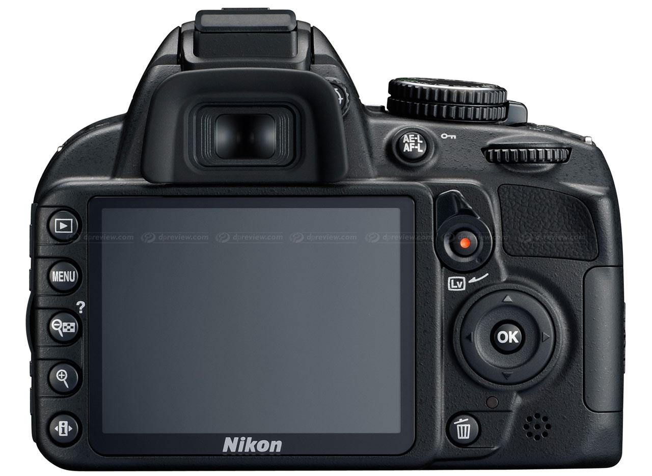 Nikon D3100 Top and Fr...