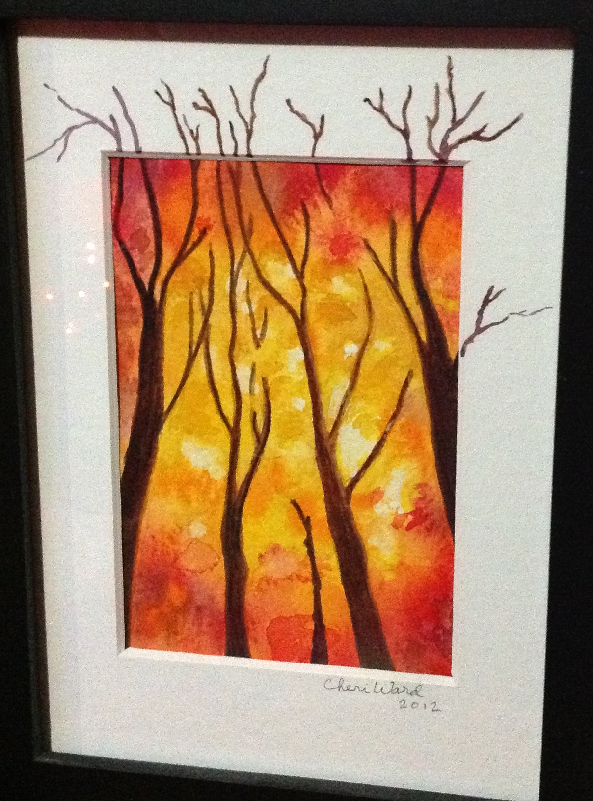 Paintings from One of my Students: Cheri W. \u2013 Ruth Bailey, artist