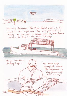 Sketchbook depiction of Watkins Rendezvous 2014